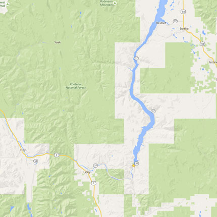 Lincoln County Montana Map.Welcome To The Official Site For Lincoln County Montana Lincoln